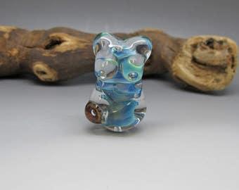 Sea Goddess - Lampwork Focal Bead