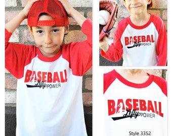 Baseball Lefty Power Kids Shirt,Baseball Lefty Power Raglan shirt,Baseball shirt,Left Handed Baseball shirt,Baseball shirt,Lefty power shirt