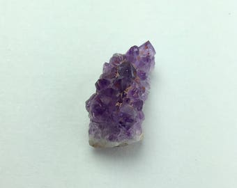 Purple Canadian Amethyst Button