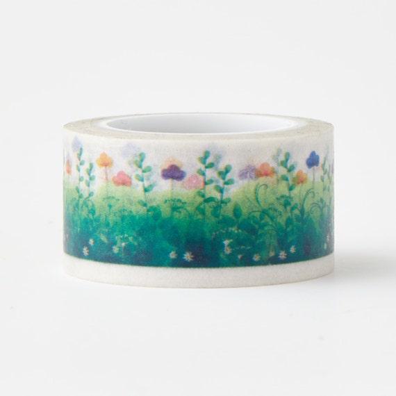 Basket Making Supplies New York : Spring flower washi tape craft supplies scrapbooking