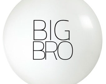 36 inch Balloon  | Big Brother | Pregnancy Announcement | Photo Prop