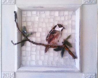 SOLD Farmhouse Style Mosaic Sparrow