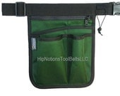 NEW...Gardening Green Heavy Cordura Nylon HipNotions Tool Belt