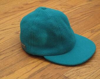 vintage Columbia fleece cap