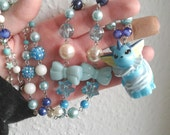 VAPOREON Necklace - Figure necklace - Pokemon GO