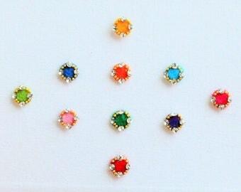 Bindi Pack, Indian Jewels, Flower Bindi, Bindis