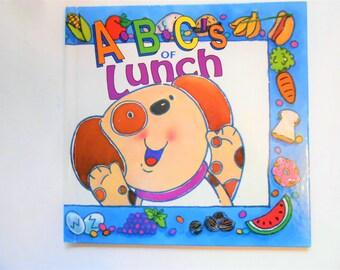 ABCs of Lunch, a Vintage Children's Alphabet Book
