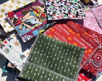 Menstrual Pad Wrappers Random Prints Set of 3