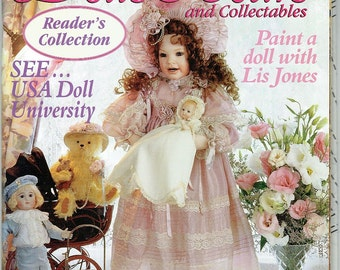 Australian Dolls Bears and Collectables Magazine Vol 7 Number 5 Issue 41 - Teddy Bear Information - How To Make a Teddy Bears