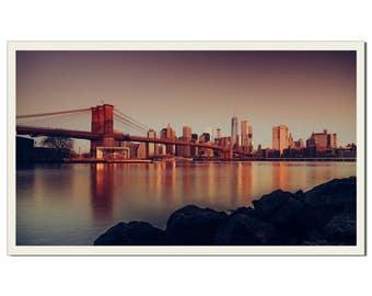 Manhattan Glow - Photographic Print by Doug Armand on Etsy