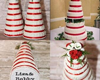 Replica cake ornament