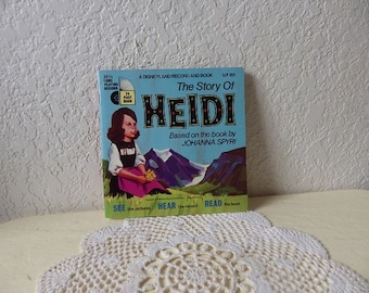 The Story of Heidi, A Disneyland Record and Book, 1968