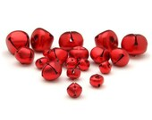 Red Bells, Craft Bells, School project bells, Valentine Bells,  Jingle Bells, Holiday Crafting