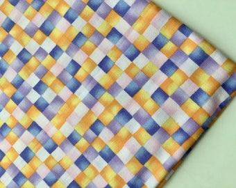 Hoffman International Fabrics, Check Fabric, OOP, HTF, Sale, Last Yard