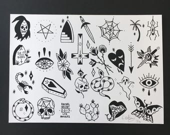 Rachel Welsby - 10 x 14 - Friday 13th Flash Sheet