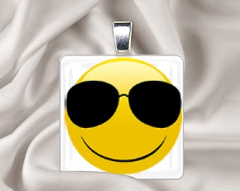 Emoji Cool Sunglasses