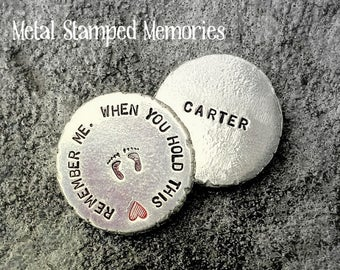 REMEMBRANCE COIN When You Hold This Remember Me Pocket TOKEN