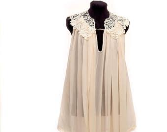 Boho wedding blouse