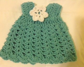 Doll dress with flower detail