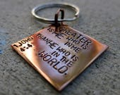 Two (2) Bible Verse Jer 29:11 keychains PLUS Greater is He keychain