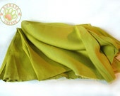 Linen fabric remnants Sale! European linen flax out cuts for DIY crafts & decoration; High quality, rare, silk-like fresh green pure linen
