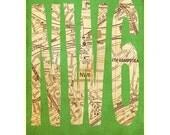 NW6, Kilburn Brondesbury West Hampstead Queens Park London Postcode Art Print
