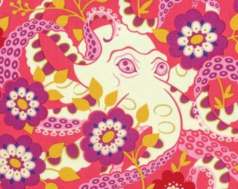 Heather Bailey, Hello Love, Octopus's Garden, Coral, One Yard