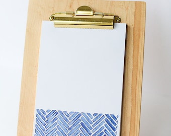 Wooden Clipboard with Stand for Display | Maple | Photo Frame