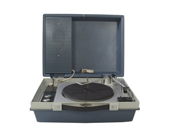 Working RCA Victor Record Player - Vintage - Portable - Phonograph - Portable Stereo Sound System - 1970's