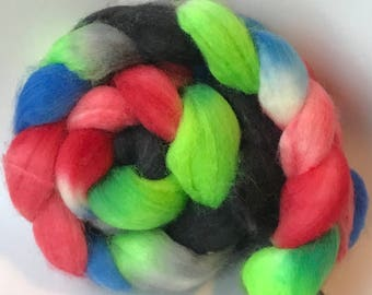Blue faced leicester spinning top Ciceleah, roving, BFL