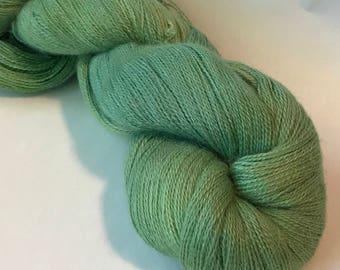 LUSH Baby alpaca silk cashmere lace yarn, Esmarelda