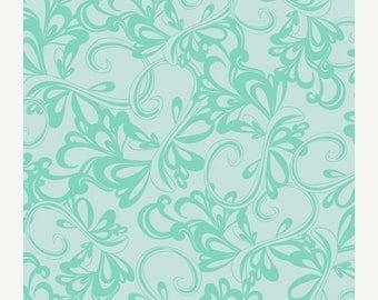 40% OFF SALE - RHYTHMIC in Sky - Art Gallery Fabrics - Poetica by Patricia Bravo - By the Yard
