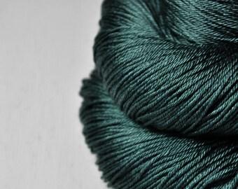 Trapped in a bottle OOAK - Merino/Silk Fingering Yarn Superwash