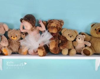 Baby Bear Hat Newborn Photo Prop
