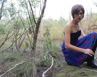 OOAK Strapless Spiderweb Dress Spiderwoman
