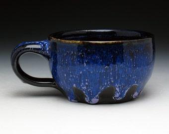 DRIP SPECIAL: Black & Blue Shaving Mug