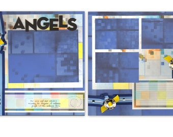12x12 2pg. Layout - Angels