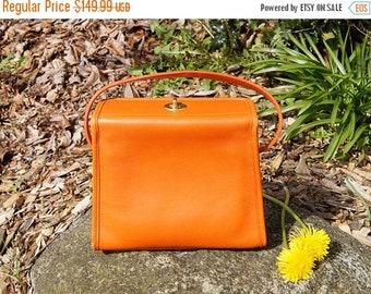 Spring SALE 90's Coach Geometric Orange Handbag