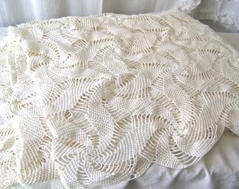 Crochet Coverlet Bedspread Pattern