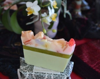 Soap~All Natural Soap~ Organic Soap~Pear Soap~Vegan Soap~French Pear