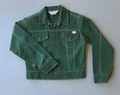 1970s Denim Jacket. 70s Denim Jacket. Sta Prest Jacket. JC Penney Super Denim Jacket. XXS