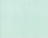 Bonnie Camille  Basic Scrumptious Stripe Aqua 55071 35 by Bonnie & Camille for Moda