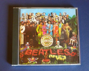 Beatles Sgt. Pepper's Lonely Hearts Club Band CD CDP 7 46442 2 Parlohone 1967