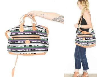 Ethnic Ethnic Weekender, Large Guatemalan Textile Bag
