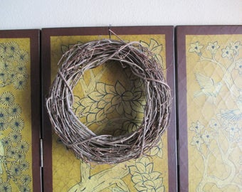 Vintage Grapevine Round Wreaths - Your Choice