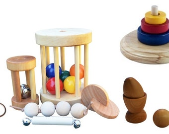 Complete Package of Montessori Toys