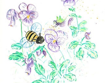 A Busy Bee Day