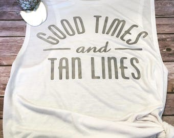Tan lines etsy summer clearance sale 30 off good time and tan lines summer tank fandeluxe Ebook collections