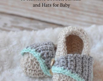 Head and Toes - 15 Adorable Crochet Booties, Sandals and Hat for Baby PDF DOWNLOAD