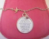 Daughter In Law Necklace Pendant Wedding Gift